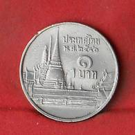 THAILAND 1 BAHT 1997-2540 -    KM# 183 - (Nº27851) - Thaïlande