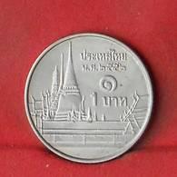 THAILAND 1 BAHT 2009-2552 -    KM# 443 - (Nº27852) - Thaïlande