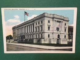 Cartolina Municipal Building - Trenton - N.J. - 1926 - Cartoline