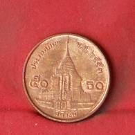 THAILAND 50 SATANG 2010-2553 -    KM# 442 - (Nº27853) - Thaïlande
