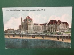 Cartolina The Marleborough - Blenhelm - Atlantic City - N. F. - 1909 - Cartoline