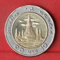 THAILAND 10 BAHT 1994-2537 -    KM# 227 - (Nº27857) - Thaïlande