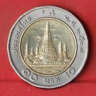 THAILAND 10 BAHT 1996-2539 -    KM# 227 - (Nº27859) - Thaïlande