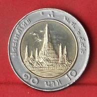 THAILAND 10 BAHT 2003-2546 -    KM# 227 - (Nº27860) - Thaïlande