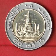 THAILAND 10 BAHT 2005-2548 -    KM# 227 - (Nº27861) - Thaïlande