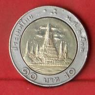 THAILAND 10 BAHT 1989-2532 -    KM# 227 - (Nº27862) - Thaïlande