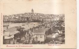 Souvenir De Constantinople - Turkey