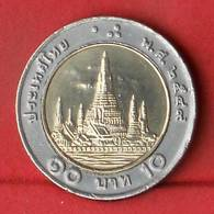 THAILAND 10 BAHT 2006-2549 -    KM# 227 - (Nº27863) - Thaïlande