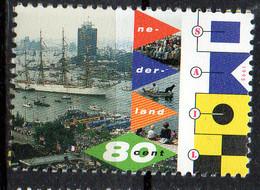 PIA - OLANDA -1995 : SAIL '95 Ad Amsterdam - Gara Di Grandi Velieri   - (Yv 1512) - 1980-... (Beatrix)