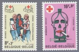 1979 Nr 1921-22** POSTFRIS.HET BELGISCHE RODE KRUIS. - Belgique