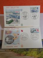 Europa CEPT 1979 - 67 Strasbourg-Paris - 28.4.1979 FDC 1er Jour N°1119-1120A - Coté 4,40€ Lot 2 FDC - FDC