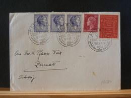 83/254  LETTRE POUR LA SUISSE  1961 - Luxembourg