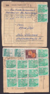 DDR 5 Pf. (14) Fünfjahrplan Auf Paketkarten-Briefstück Rohrbach Oelsnitz Vogtland 30.11.61, Postinterna - [6] République Démocratique