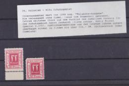 Malakote-Ausgabe 1899 Witu Schutzgebiet Siehe Beschreibung, Im Katalog Als Privaterzeugnis Registriert Suhaeliland - Memel (Klaïpeda)
