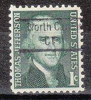 USA Precancel Vorausentwertung Preo, Locals Connecticut, North Canton 843 - Vereinigte Staaten