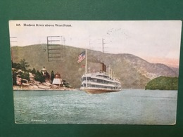 Cartolina Hudson River Above West Point - 1920 - Cartoline