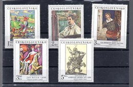 TCHECOSLOVAQUIE 2360/2364** SUR DES TABLEAUX DES GALERIES NATIONALES DONT DURER - Tchécoslovaquie