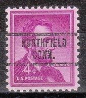 USA Precancel Vorausentwertung Preo, Locals Connecticut, Northfield 734 - Vereinigte Staaten