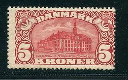 DANEMARK 1912 N° 68 Gravé Hotel Des Postes De Copenhague Voir Photo - 1905-12 (Frederik VIII)