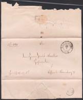 MAGDEBURG 1862 Altbief Herrschaftlich Christliche Sache  Nach Lissen Bei Naumburg An Probst - Allemagne