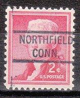 USA Precancel Vorausentwertung Preo, Locals Connecticut, Northfield 821 - Vereinigte Staaten