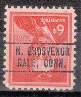 USA Precancel Vorausentwertung Preo, Locals Connecticut, North Grosvenor Dale 749 - Vereinigte Staaten