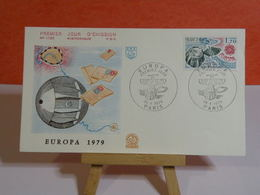 Europa CEPT 1979 - Paris - 28.4.1979 FDC 1er Jour N°1120 - Coté 2,20€ - FDC