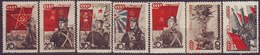 ROSSIA - RUSSIA - Mi. 588-94  RED  ARMY  DAY - **MNH - 1938 - EXELENT - 1923-1991 URSS