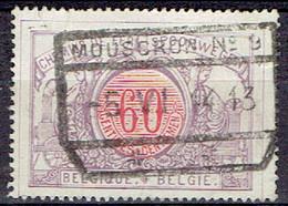 Belle Oblitération MOUSCRON 5/6/1914 Sur Timbre COB CF37 - Chemins De Fer