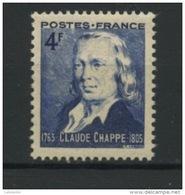 FRANCE - CHAPPE - N° Yvert 619** - France