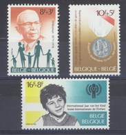 1979 Nr 1955-57** Solidariteit, Postfris Zonder Scharnier. - Belgique