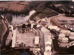 MARINE NATIONALE - Photo Aérienne Centre Marine LA VILLENEUVE Près De Brest - Krieg, Militär