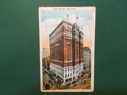Cartolina Hotel McAlpin - New York - 1924 - Cartoline