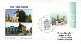 "BRD Schmuck-FDC  ""1300 Jahre Arnstadt"", Mi. 2388 ESSt 5.2.2004 BERLIN ZENTRUM - BRD"