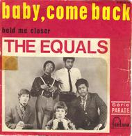 """THE EQUALS """"BABY, COME BACK - HOLD ME CLOSER"""" DISQUE VINYL 45 TOURS - Vinyles"""