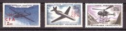 Réunion - 1961 - PA 58 à 60 - Neufs ** - Prototypes - Poste Aérienne