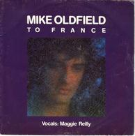 """MIKE OLDFIELD """"TO FRANCE - IN THE POOL (instrumental)"""" DISQUE VINYL 45 TOURS - Vinyles"""