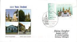 """BRD Schmuck-FDC  """"1300 Jahre Arnstadt"""", Mi. 2388 ESSt 5.2.2004 BONN - BRD"""