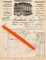 Militaria ,39-45 ,Poitiers (86)  7 Papiers :hopital St Stanislas ,hopital Auxil.de L'E.P.S.G. ;Réfugiés De Croutelle - 1939-45