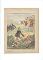 Indochine Tonkin De Colomb Retraite De Langson Protège-cahier Couverture 220 X 175  TB 3 Scans Colonies Françaises - Protège-cahiers