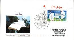"BRD Schmuck-FDC  ""Post: Grußmarke"", Mi. 2387 ESSt 5.2.2004 BONN - BRD"