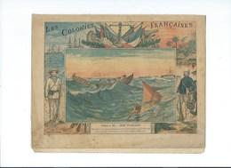 Inde Française India Pondichéry Chelingues Protège-cahier Couverture 220 X 175 Bien 3 Scans Colonies Françaises - Protège-cahiers