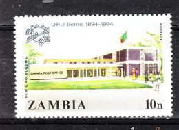 Zambia - 1974. UPU. Ufficio Postale.Chipata Post Office. MNH - Post
