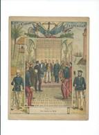 TUNISIE Palais Du Bardo Escalier Des Lions Protège-cahier Couverture 220 X 175 Bien 3 Scans Colonies Françaises - Protège-cahiers