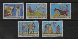 Serie De Grecia Nº Yvert 1879/83 ** - Grecia