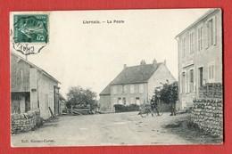 CPA 21 - LIERNAIS ( Côte-d'Or ) - La Poste (Collection Guenot-Cortet) - France