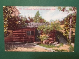 Cartolina Oldest House In Utah - Built 1847 - Salt Lake City - 1922 - Cartoline