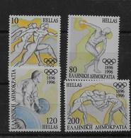 Serie De Grecia Nº Yvert 1892/95 **  DEPORTES (SPORTS) - Grecia