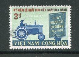 VIET-NAM DU SUD- Y&T N°395- Oblitéré - Viêt-Nam