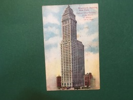 Cartolina Woolworth Building - New York - Highest Office Building - 1911 - Cartoline